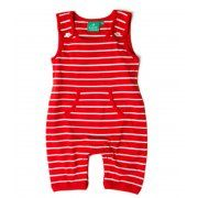 Little Green Radicals Red Dungarees