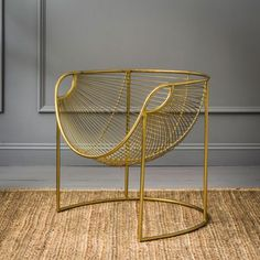 Mulberry Leaf Lounger In Gold - View All Catalogue - Shop the Catalogue - New For Spring