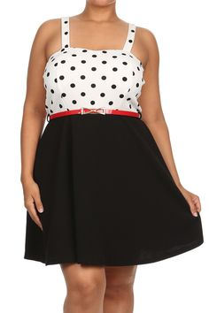 d78e488775f Plus Size Steal The Spotlight Belted Skater Dress – PLUSSIZEFIX Stylish  Plus Size Clothing