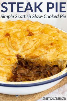 Scottish Dishes, Scottish Recipes, Irish Recipes, Meat Recipes, Cooking Recipes, British Dishes, British Food Recipes, British Meals, Gastronomia