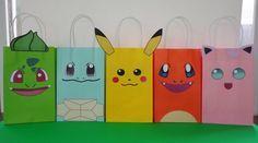 Pokemon Party Ideas- Favors - treat/ candy bags Pokemon cake decoration. Pokemon cupcake toppers/ labels/ goodie bags/ pokemon fiesta/ festa/ printable favors/ goody bags/ pokeball poke ball/ pokemon banner/ pokemon balloons/ pokemon candy table/ pokemon plates pokemon decor ideas/ pokemon candies/ pokemon invite/ pokemon invitation/ free