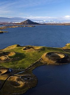 Lake Mývatn, Iceland Photograph by Jonas Bendiksen, National Geographic