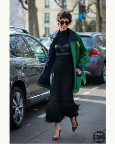 "1,867 Likes, 10 Comments - Style Sight WorldWide (@stylesightworldwide) on Instagram: ""#parisfashionweek @yasminsewell |   @styledumonde #streetstyle #fashion #blogger #fall17…"""