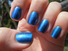 China Glaze - Blue Iguana @China Glaze From the girls at Pretty in Polish!