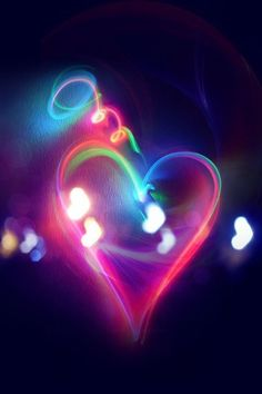 Find images and videos about love, heart and neon on We Heart It - the app to get lost in what you love. I Love Heart, With All My Heart, Happy Heart, Your Heart, Lonely Heart, Iphone 5 Wallpaper, Heart Wallpaper, Camera Wallpaper, Gothic Wallpaper