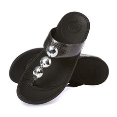 c99c69cc8f2 Fitflop Petra Sandals - Pewter