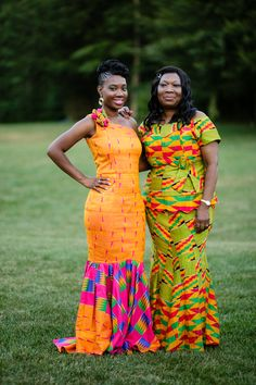 Ghanaian Wedding in Massachussetts with Kente Theme: Claudette + Jerry