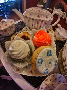 Mad Hatter's Tea Party Food