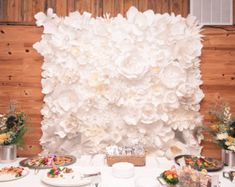 giant paper flowers wall paper flower wall wedding miogallery pinterest paper paper flowers and wedding