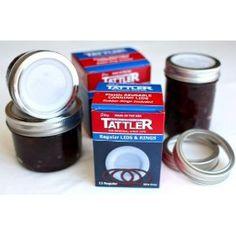 I love my Tattler Reusable Canning Lids!
