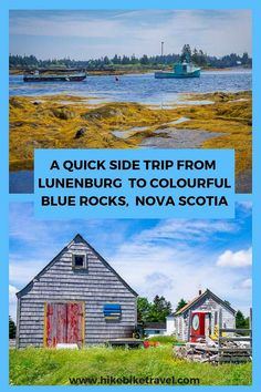 Beautiful Blue Rocks, Nova Scotia is less than a 10 minute drive from Lunenburg. Don't miss the chance to see an old fishing village untouched by time. Alberta Canada, Ottawa, Quebec, Lunenburg Nova Scotia, Nova Scotia Travel, Montreal, Ontario, Atlantic Canada, Canadian Travel