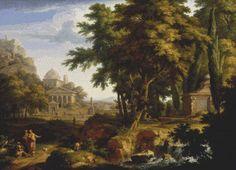 Arcadian Landscape Cross Stitch Pattern