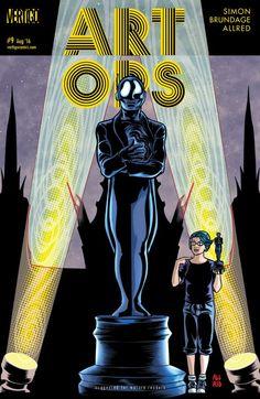 Art Ops (2015) #9 #Vertigo #DC @vertigo_comics #ArtOps (Cover Artist: Laura Allred & Mike Allred) Release Date: 6/29/2016