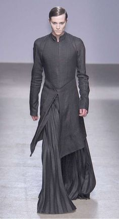 dystopian Futuristic men's fashion