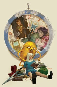 Adventured Season 11 - Finn and Jake by Miguel Mercardo * Old Cartoon Network, Adventure Time Wallpaper, Old Cartoons, Nerd, Marvel, Animation, Seasons, Cool Stuff, Illustration