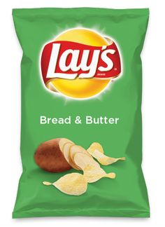 Wouldn't Bread & Butter be yummy as a chip? Lay's Do Us A Flavor is back, and the search is on for the yummiest flavor idea. Create a flavor, choose a chip and you could win $1 million! https://www.dousaflavor.com See Rules.