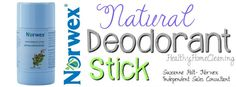 There are many natural deodorants on the market, but not many antiperspirants. The New Norwex Deodorant Stick..