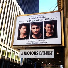 Daniel Radcliffe stars as Cripple Billy in Martin McDonagh's The Cripple of Inishmaan at the Cort Theatre on Broadway (Apr 20, 2014 - Jul 20, 2014)