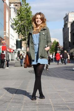 Relaxed denim in Liverpool