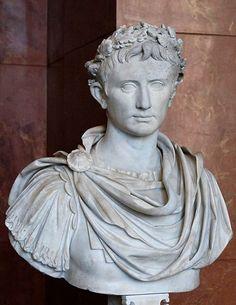 Ritratto di Augusto; I secolo a.C.; marmo; Museo del Louvre, Parigi.