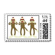 hear/see/speak no evil stamps