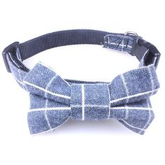 Dog Bow Tie Collar - Puppy Ties Cute Dog Collars - This Nylon Dog Collar is Perfect for Fancy Dogs. A Cool and Unique Dog Collar! - http://www.thepuppy.org/dog-bow-tie-collar-puppy-ties-cute-dog-collars-this-nylon-dog-collar-is-perfect-for-fancy-dogs-a-cool-and-unique-dog-collar-4/