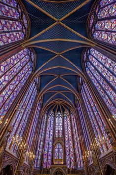 Les 11 plus belles églises de Paris Cathedral Architecture, Sacred Architecture, Concept Architecture, Architecture Design, Paris Architecture, Renaissance Architecture, Sainte Chapelle Paris, Saint Chapelle, Stained Glass Church