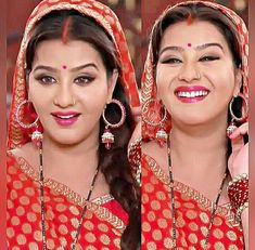 Shilpa Shinde Star Girl, Ex Boyfriend, Red Lips, Bollywood Actress, Indian Actresses, Hoop Earrings, Hollywood, Celebs, In This Moment