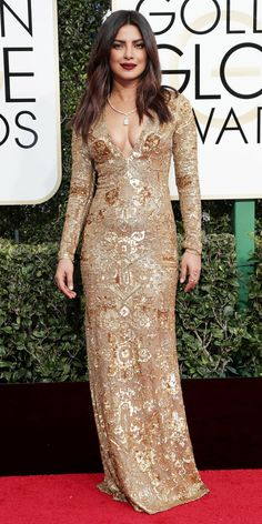 Check out your favorite celebrities walking the red carpet at the 74th annual Golden Globe Awards on Sunday, Jan. 8.