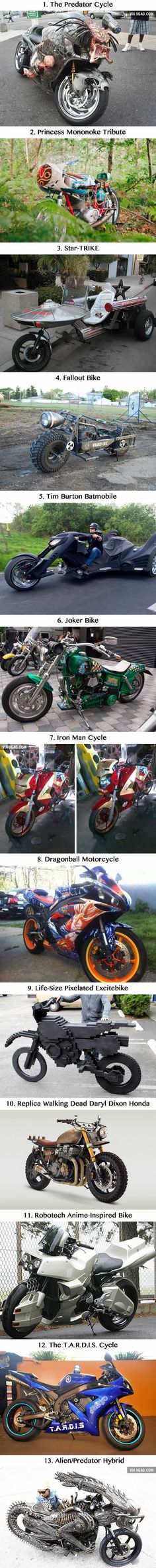 13 Geeky Motorcycles That Will Give You a Serious Case of Road Rash