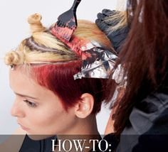 HOW-TO: Fire! #behindthechair #haircolor #redhair