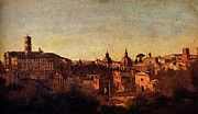 "New artwork for sale! - "" Corot Jean Baptiste Camille Forum Viewed From The Farnese Gardens by Jean Baptiste Camille Corot "" - http://ift.tt/2p1Iz3x"