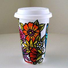 Mother's Day Ceramic Travel Mug