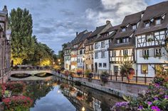 Colmar, along with Kayersberg and Strasbourg, is a trademark of the beautiful and charming Alsace region, located in northeastern France near Germany and Switzerland. New York Times, The Places Youll Go, Places To Visit, Paris, Ardennes, Saint Louis, Cities In Europe, Canoe Trip, France Travel
