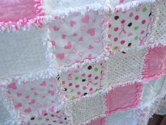 flannel rag blanket