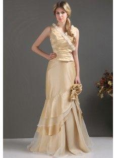 Taffeta Mermaid Evening Prom Dress