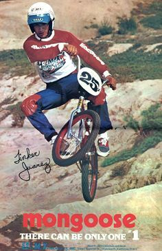 Mongoose There Can Be Only One x Reproduction Metal Sign Bmx Bikes, Road Bikes, Mongoose Bmx, Bmx Cycles, Bicycle Types, Bmx Racing, Bmx Freestyle, Print Ads, Vintage Advertisements