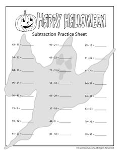Transformation Rotation Worksheet Excel New Halloween Addition And Subtraction Worksheets  And  Digit  Free Grade 3 Math Worksheets Excel with Alphabet Coloring Worksheets Pdf Halloween Addition And Subtraction Worksheets Cracking The Code Of Life Worksheet