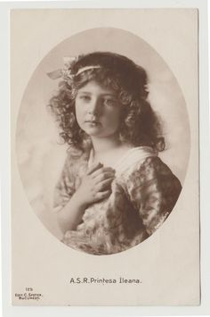 1915 RPPC ASR Printesa Ileana, Princess Ileana of Romania in Collectibles, Postcards, Royalty Princess Alexandra, Princess Beatrice, Princess Victoria, Ferdinand, Vintage Girls, Reign, Romania, Artwork, Royals