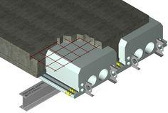 Quad Lock Flooring/Ceiling structure