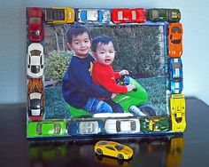 Cars photo frame...how to.