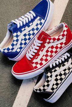 77f80ed61fd0 🤤💖🤪Pinterest  elasialarkin Red Vans Shoes