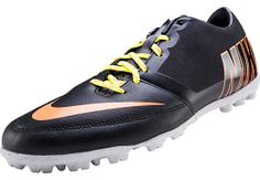 Nike FC247 Bomba Pro II Turf Soccer Shoes - Black with Purple...Available at SoccerPro.