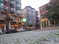The Freedom Trail is a red mostly brick path through downtown Boston, Massachusetts that leads to 16 significant historic sites. It is a 2.5-mile walk from Boston Common to Bunker Hill Monument in Charlestown.