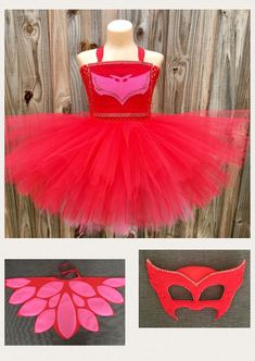 Processing time is 2-3 weeks This listing will allow you to purchase the COMPLETE COSTUME. The pieces that are available for purchase are DRESS, CAPE (that looks like wings), and MASK. Please make your selection at checkout for the pieces you want to purchase. This is the perfect