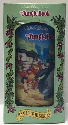(TAS034363) - 1994 Disney Coke Classic Collectible Series Glass - Jungle Book