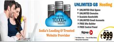 Best Web Hosting service in Assam with Unlimited Web Features like web space,bandwidth,email