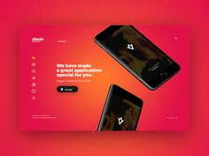 Albedo is an incredible Full Screen App Showcase PSD Template. This PSD Template will suit for online presentation your application from Apple Store and for many different purposes.  This template ...