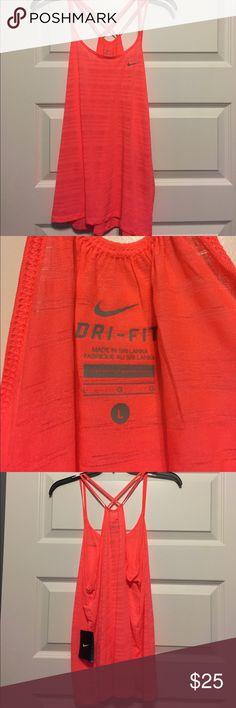 Nike dri-fit tank Hot pink dri fit tank. Nike Tops Tank Tops