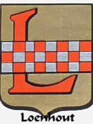 Wapen van Loenhout naar zegel uit 1370